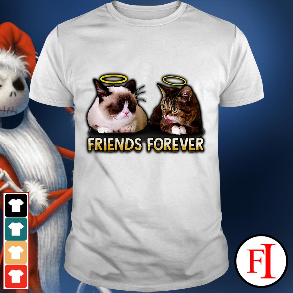 Friends forever Lil Bub and Grumpy shirt