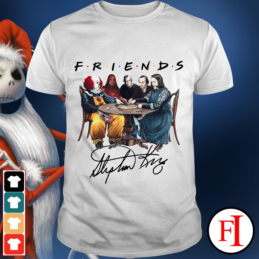 The Friends Horror Character signature shirt