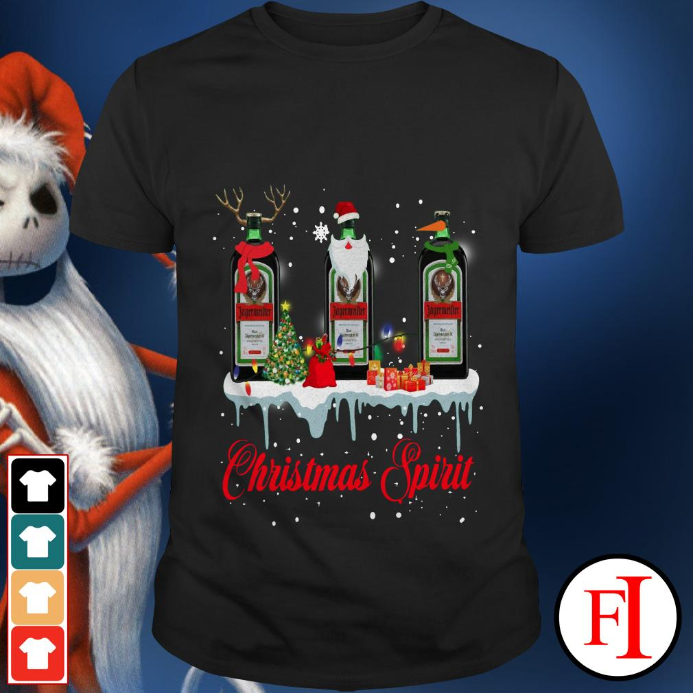 Jagermeister Whisky Christmas Spirit shirt