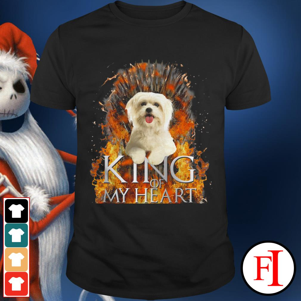 King of my heart Maltese shirt