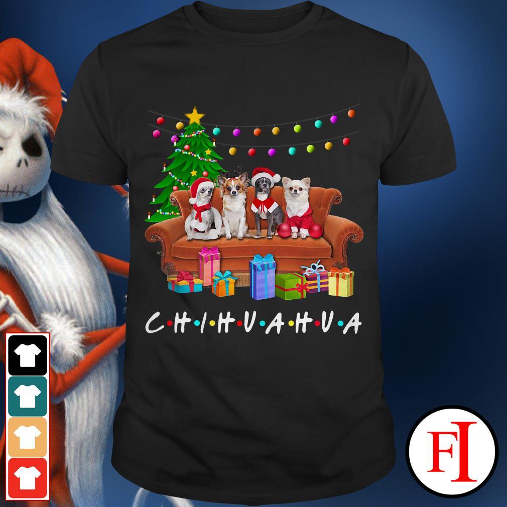 Merry Christmas Chihuahua friends TV show shirt