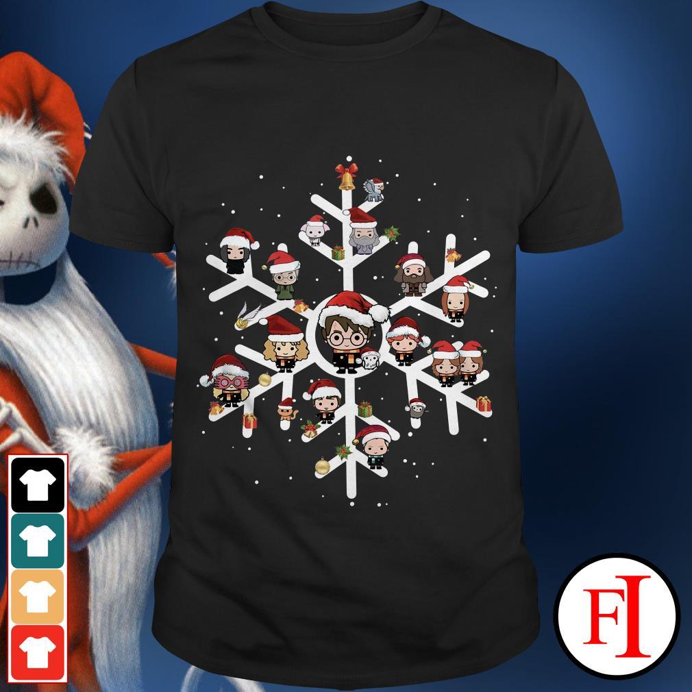 Merry Christmas Harry Potter chibi snow shirt