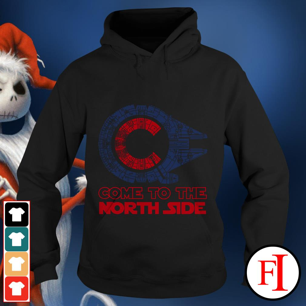 Millennium Falcon Chicago Cubs Come to the North side Star Wars Hoodie