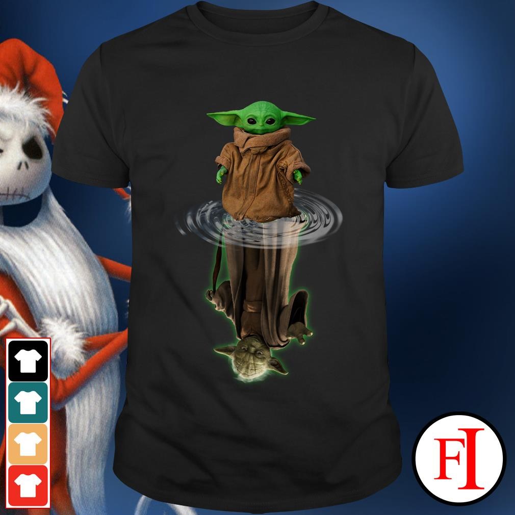 Official Baby Yoda water mirror Yoda lovely shirt