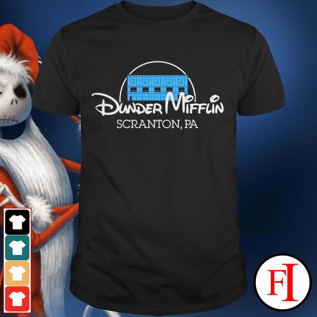 Official Dunder Mifflin Scranton PA Disney shirt