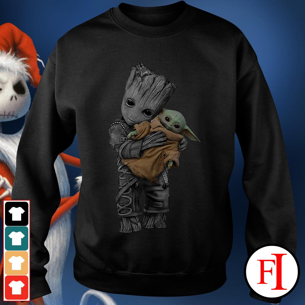 Official Groot hug baby yoda Sweater
