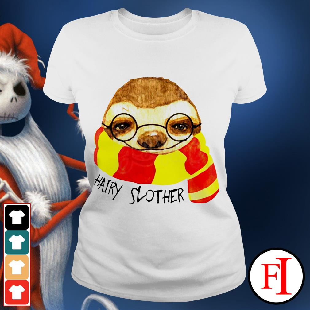 Official Hairy Slother Sloth lovers Ladies tee