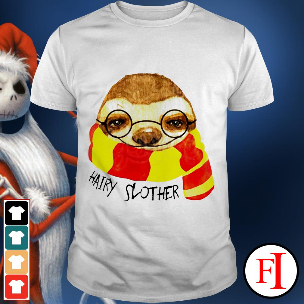 Official Hairy Slother Sloth lovers shirt