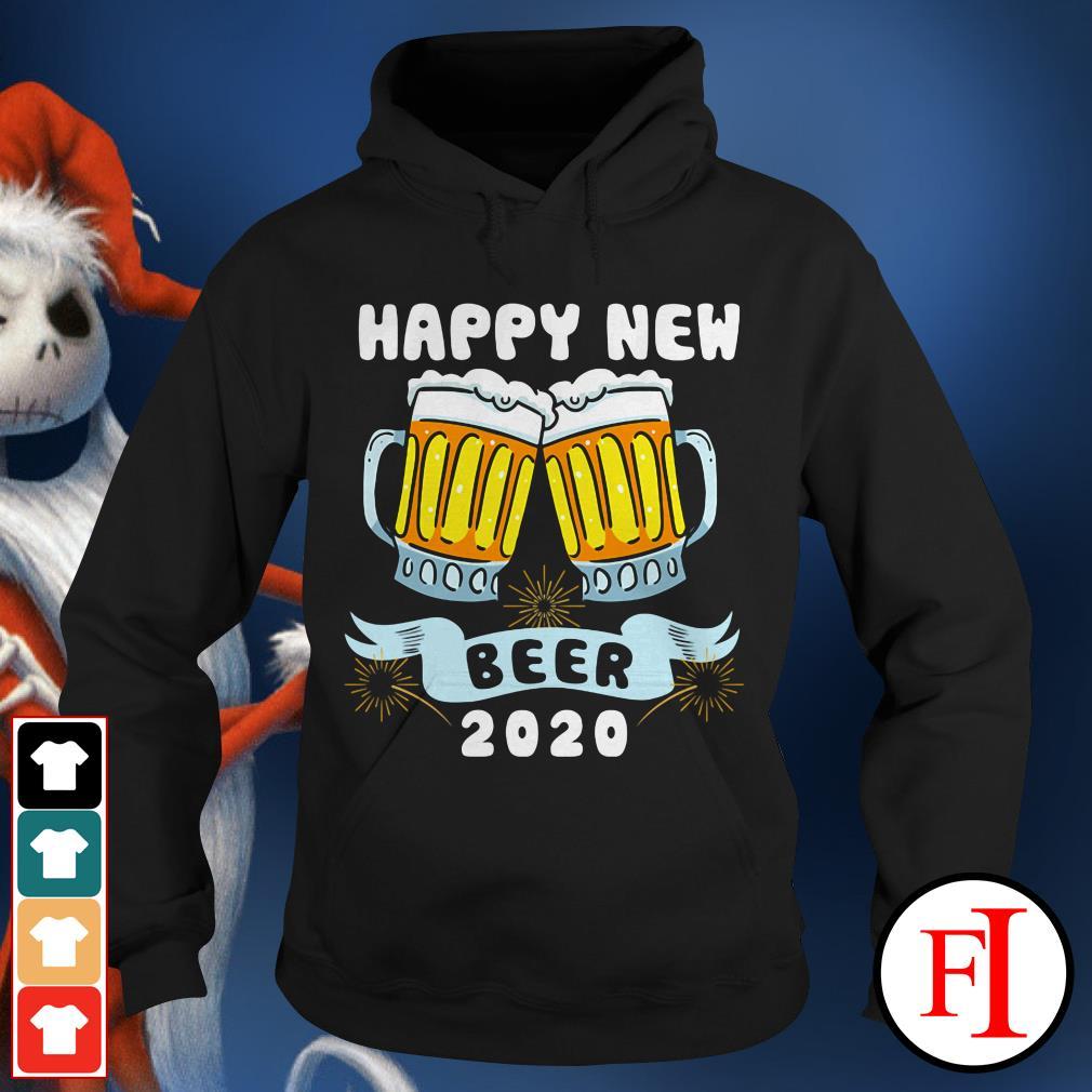 Official Happy New Year Beer 2020 Hoodie