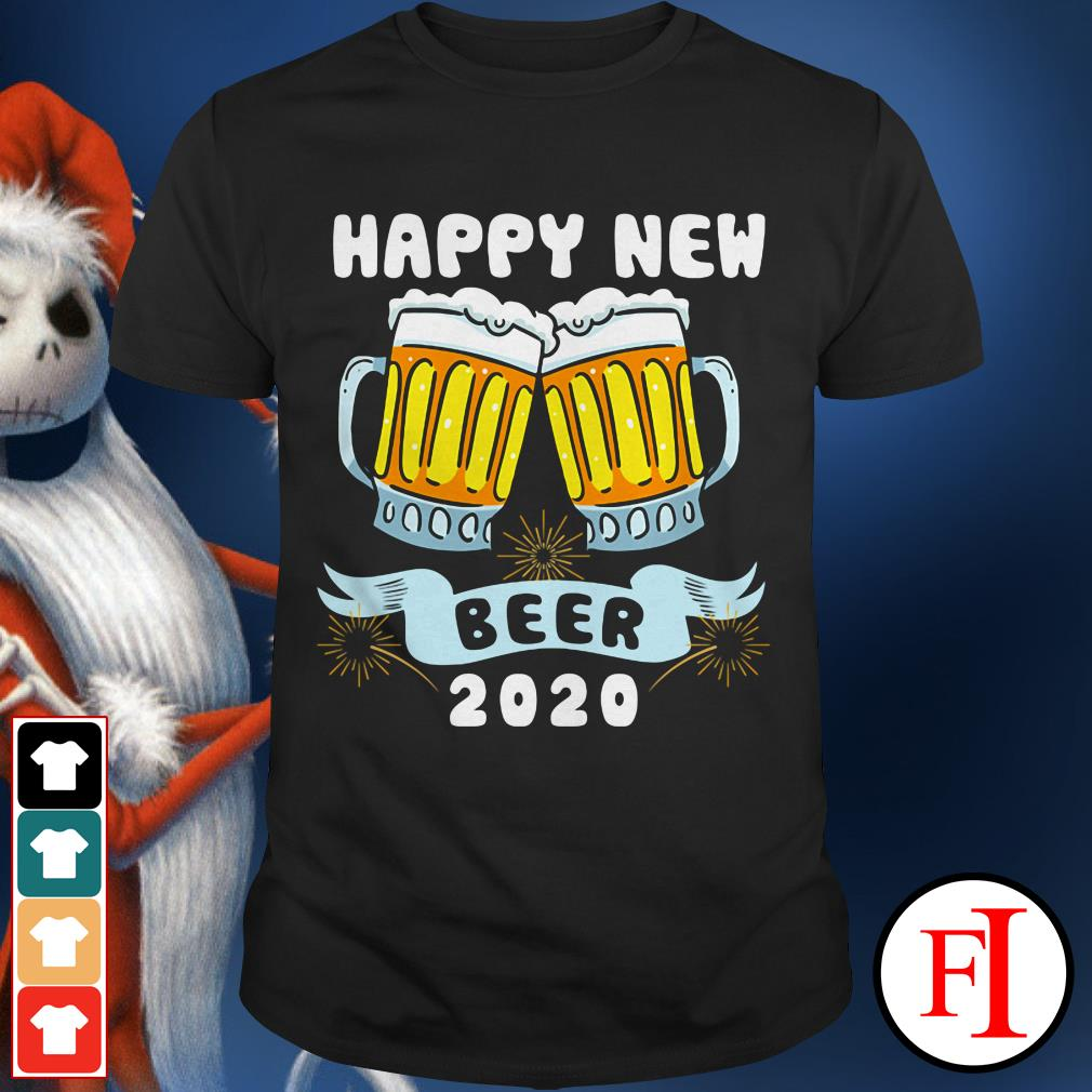 Official Happy New Year Beer 2020 shirt
