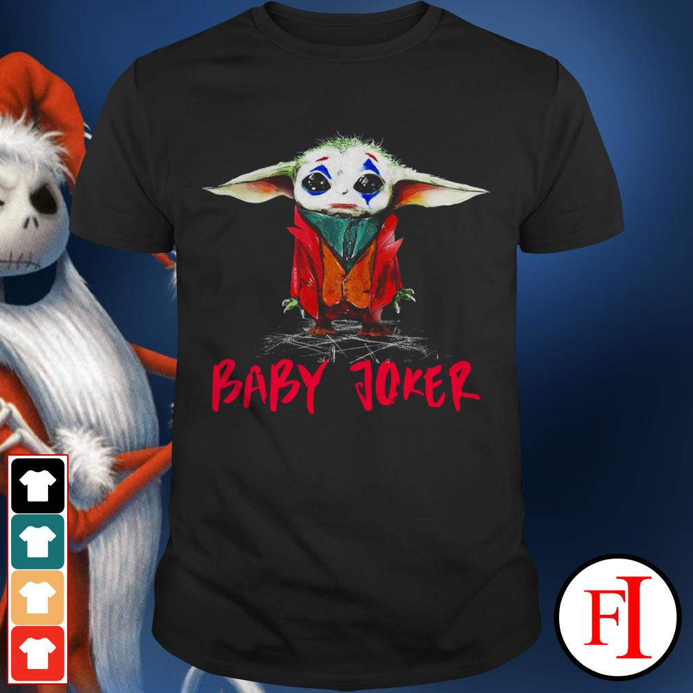Official Joker Baby Yoda baby shirt