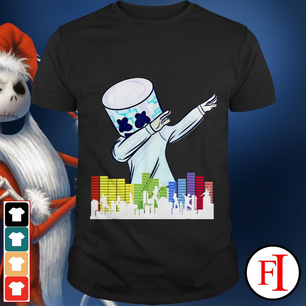 Official Marshmallow Dancing DJ City shirt