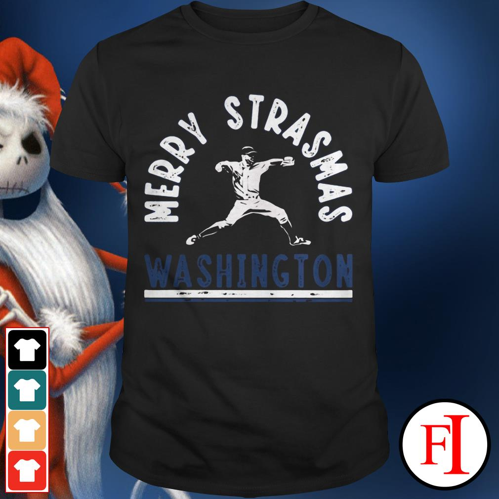 Official Merry Strasmas Washington shirt