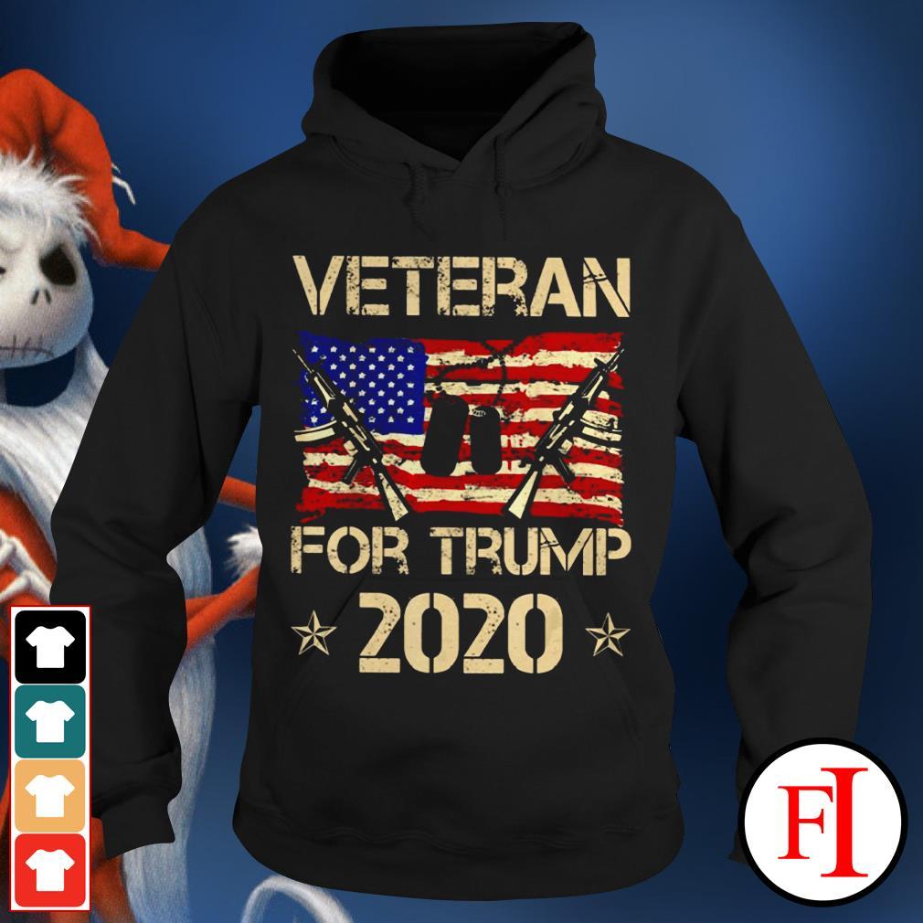 Official Veterans for Trump 2020 Hoodie