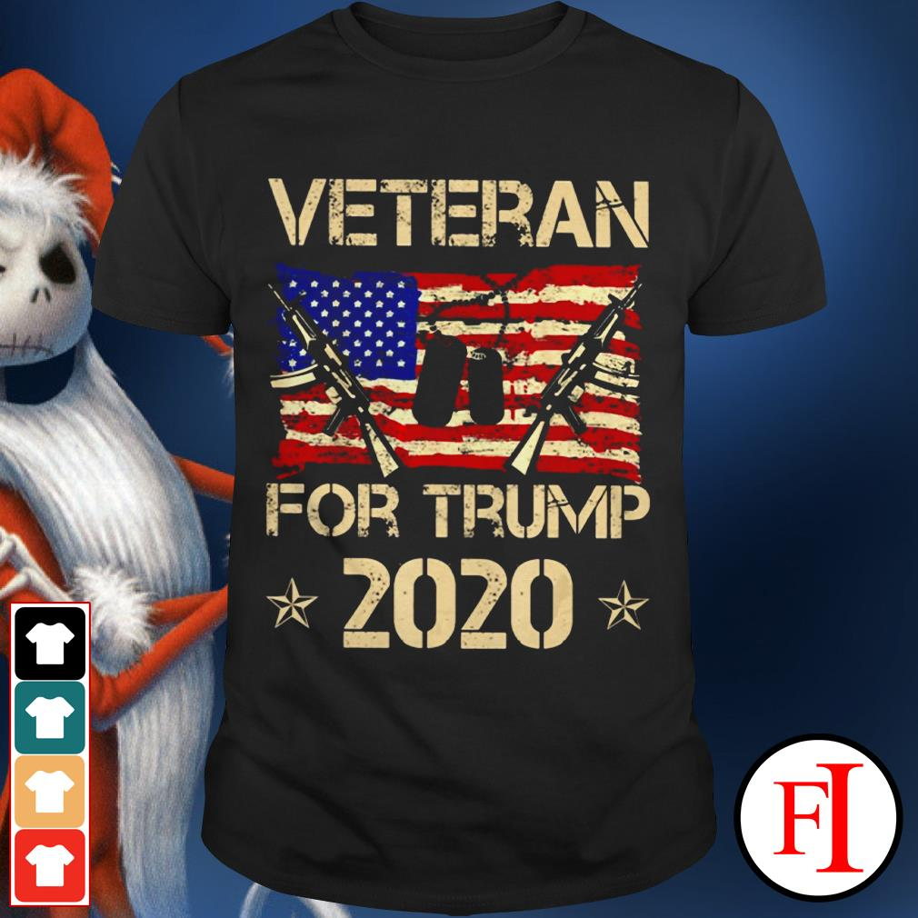 Official Veterans for Trump 2020 shirt