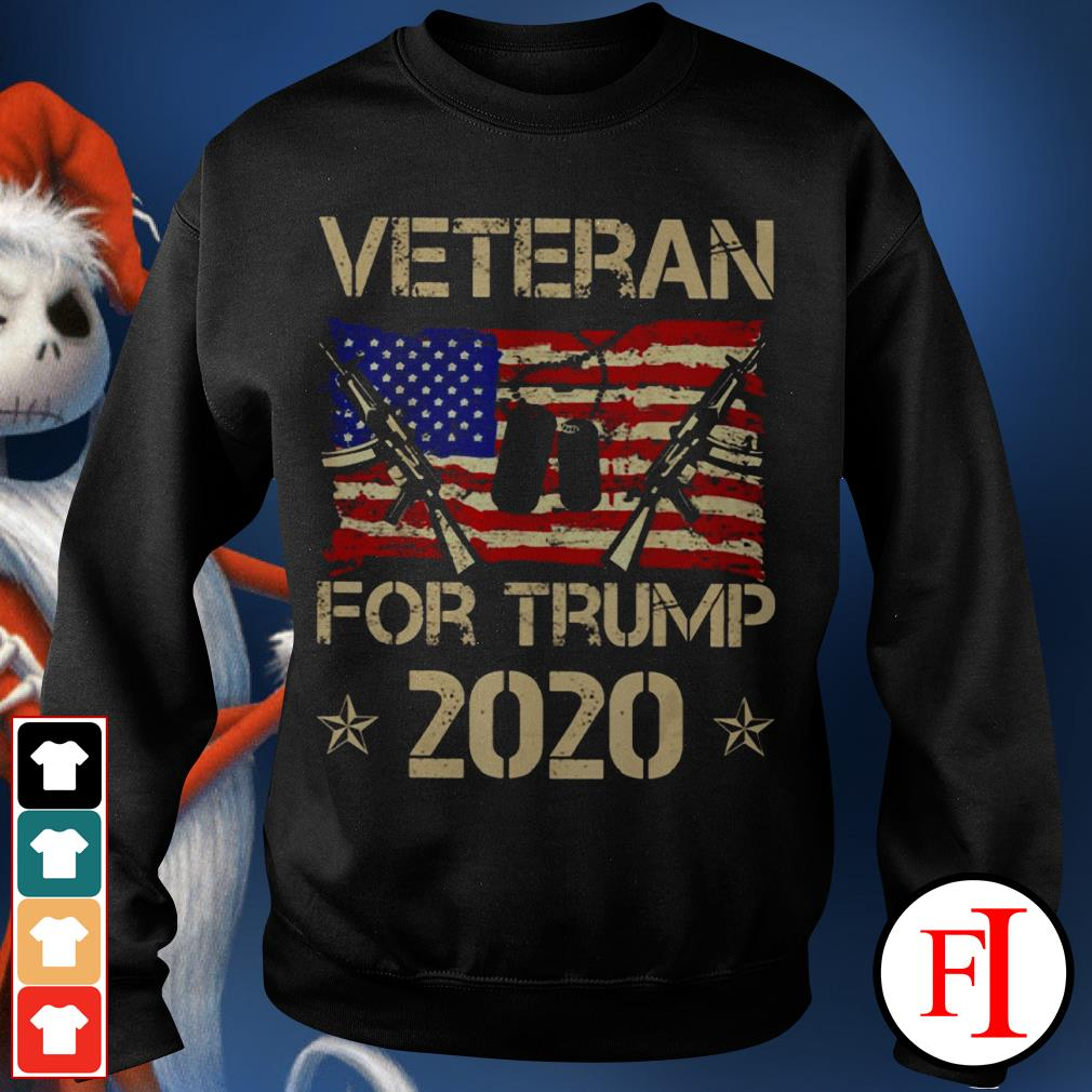 Official Veterans for Trump 2020 Sweater
