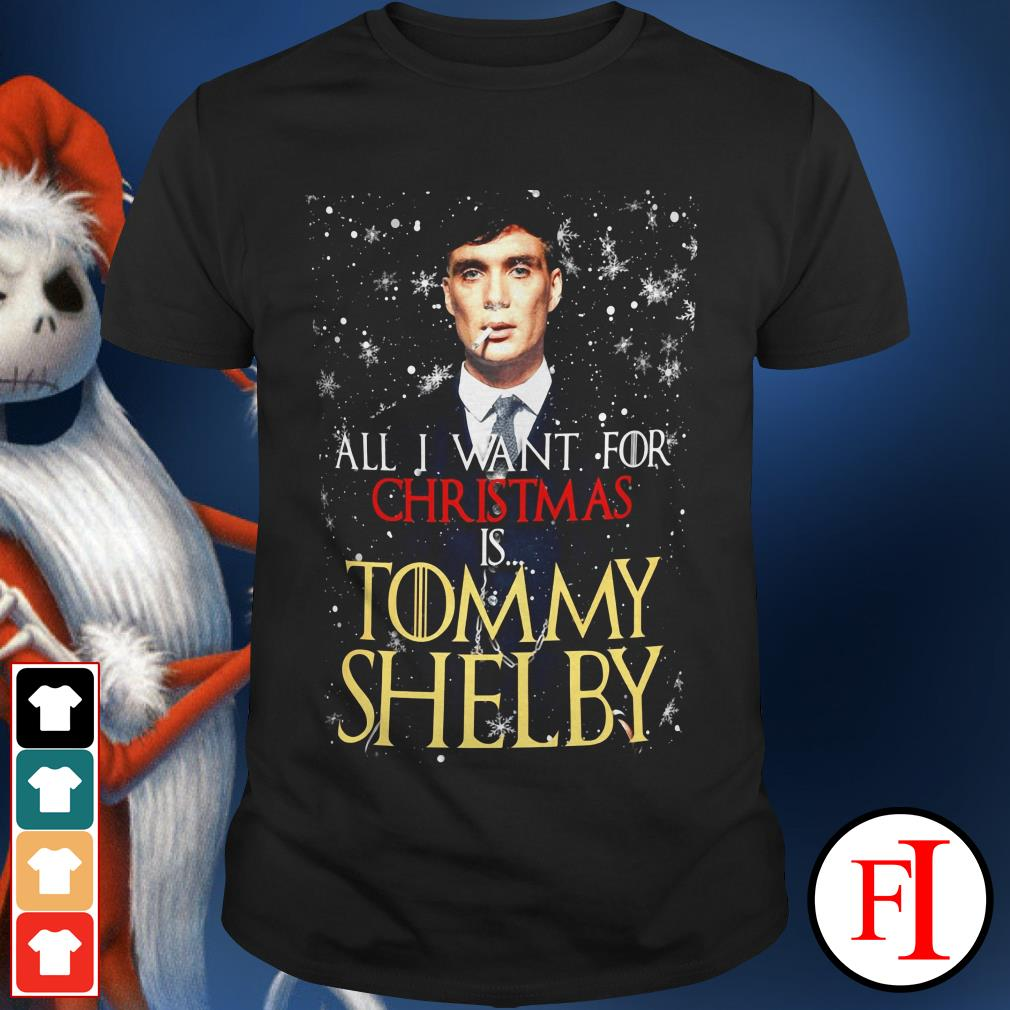 Official All I want for Christmas is Tommy Shelby shirt