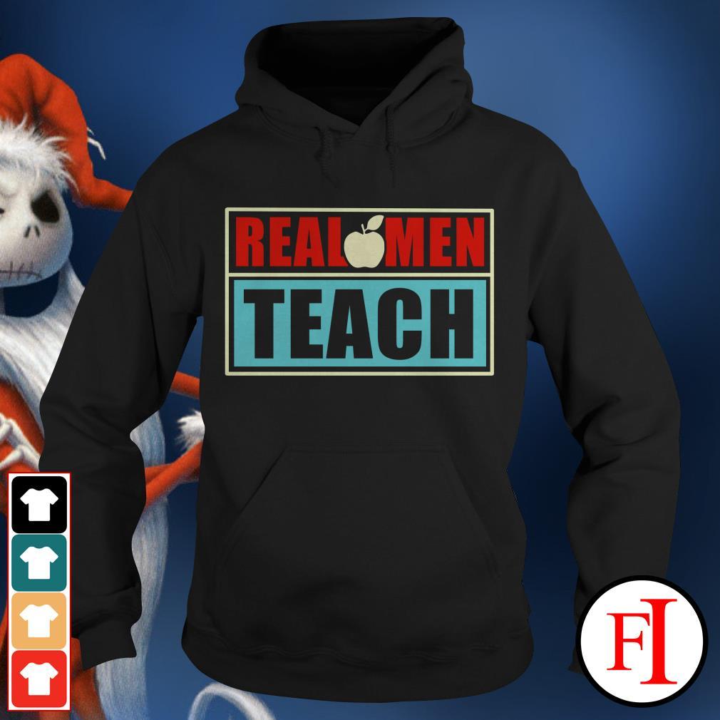 Real apple men teach Hoodie