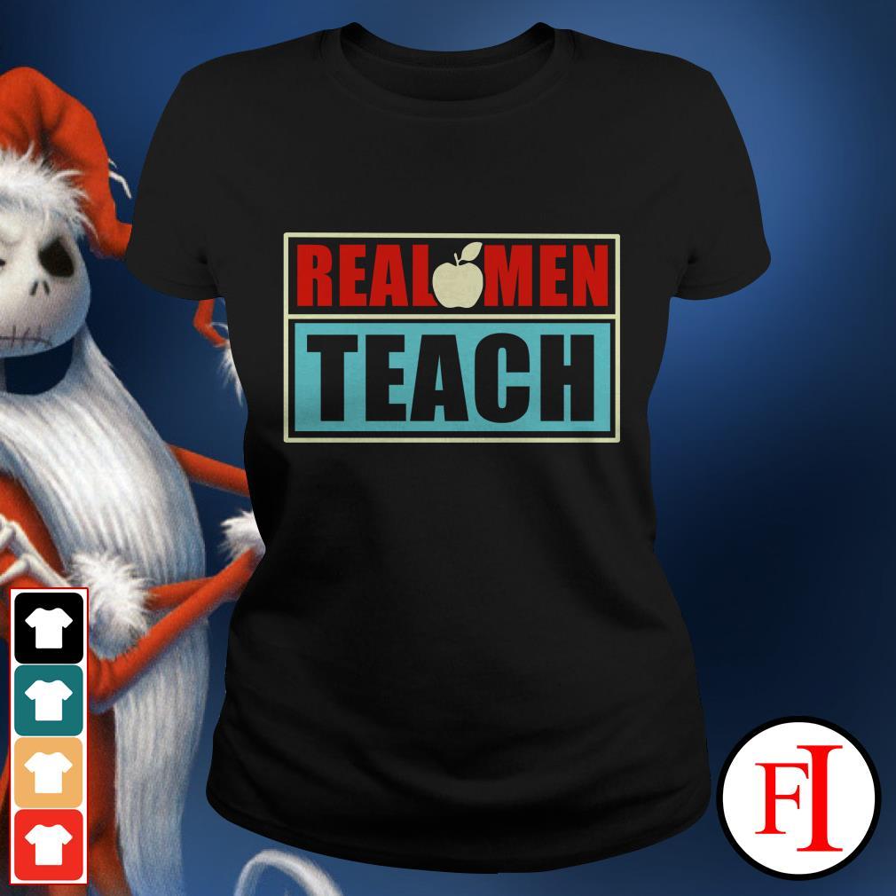 Real apple men teach Ladies tee