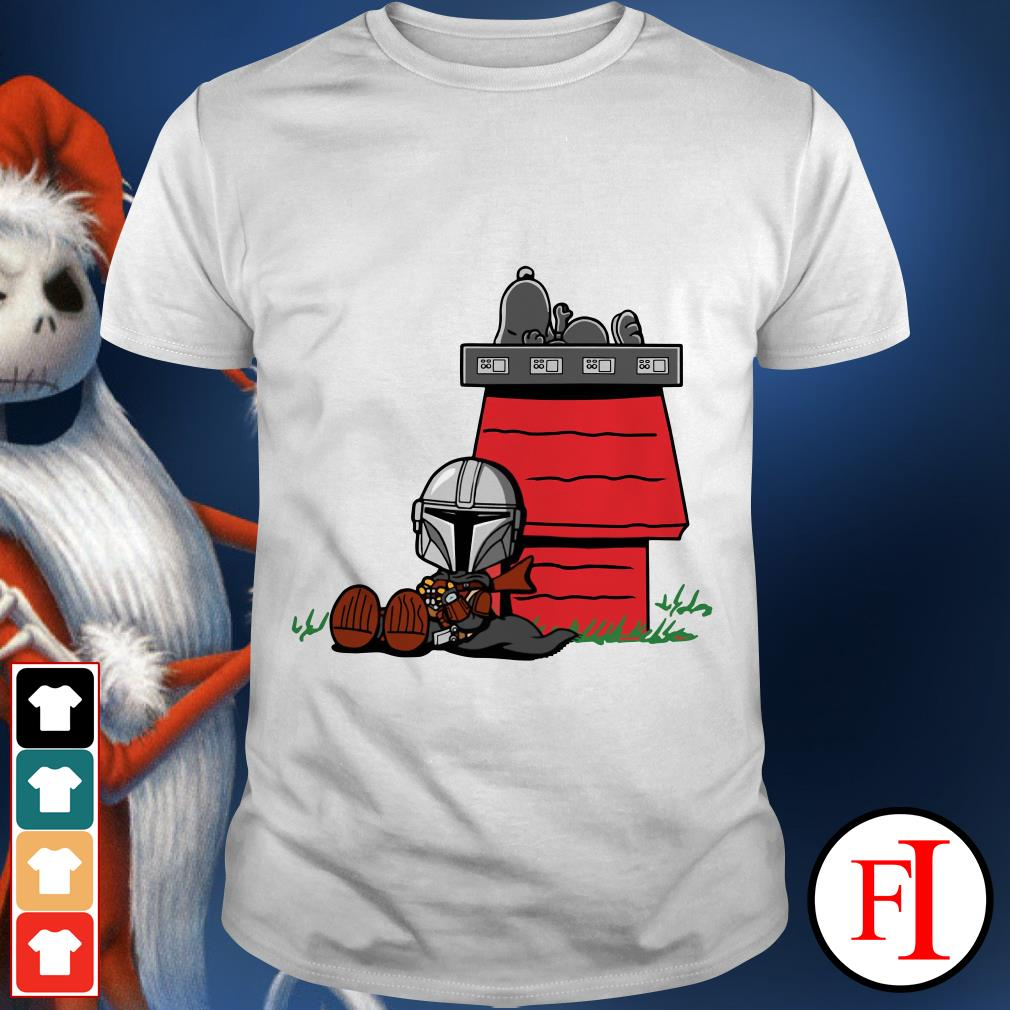 Snoopy and Boba Fett house shirt