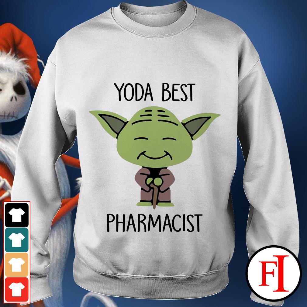 Yoda best Pharmacist Star Wars Sweater