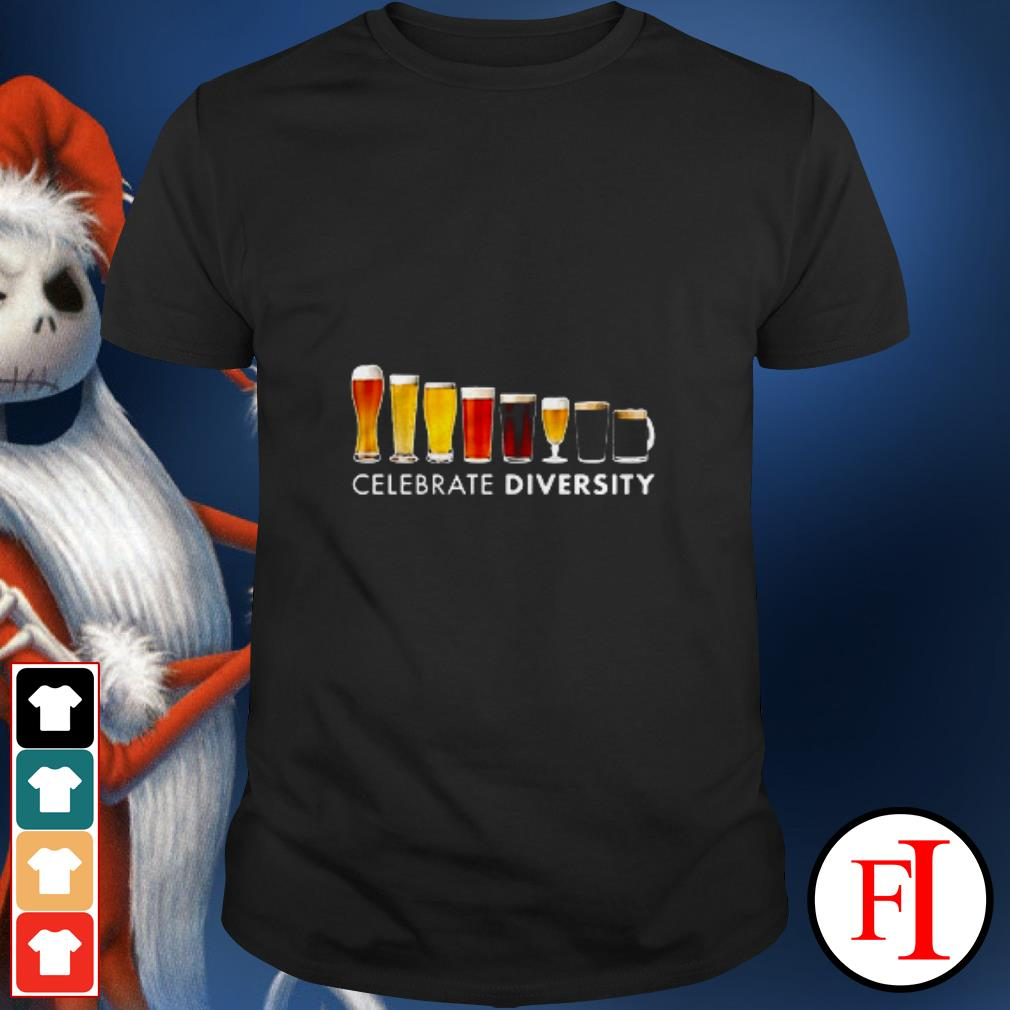 The Beer celebrate diversity shirt