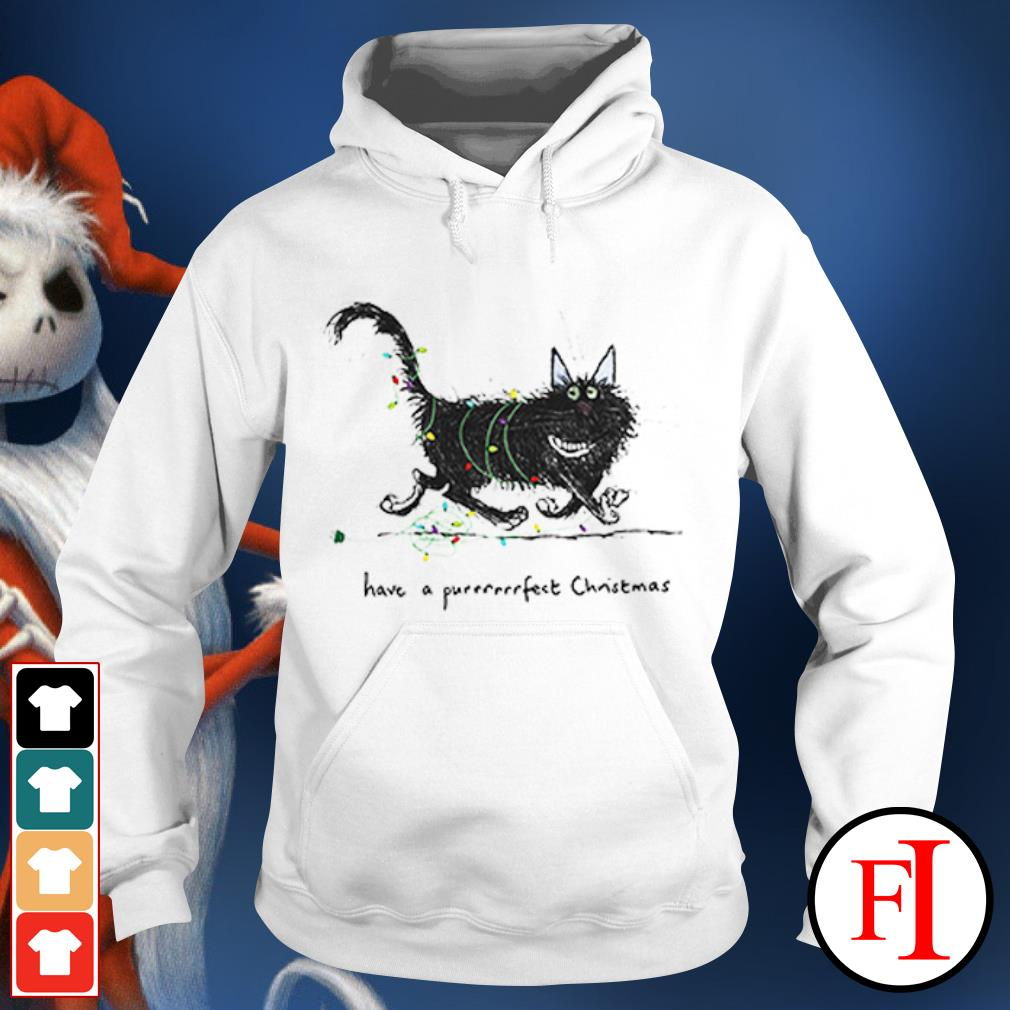 The Cat have a purrrfect Christmas Hoodie