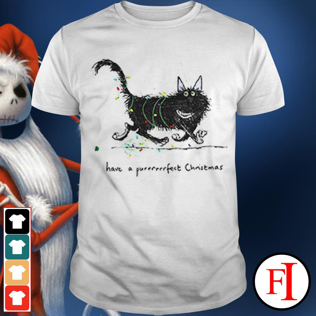 The Cat have a purrrfect Christmas shirt