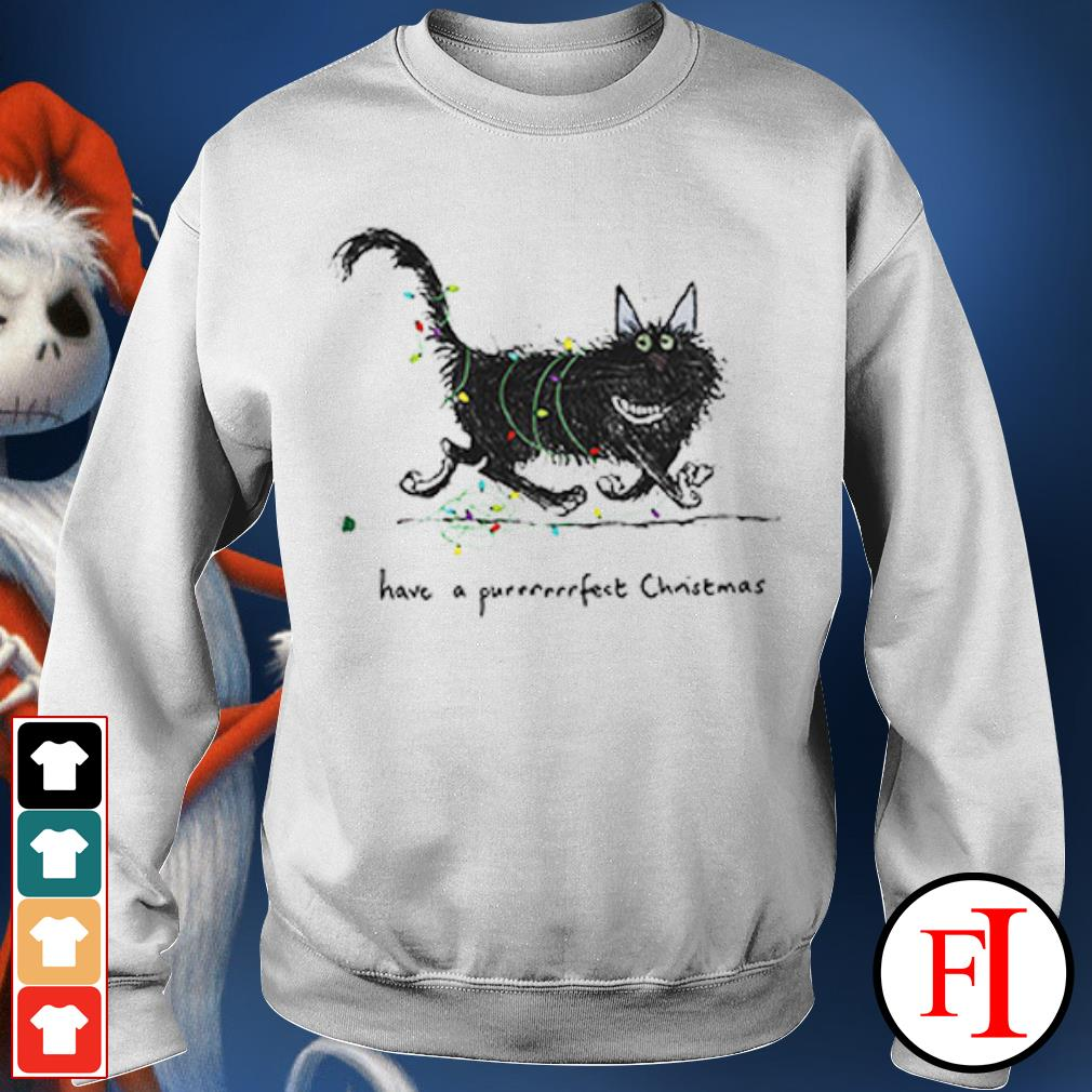 The Cat have a purrrfect Christmas Sweater