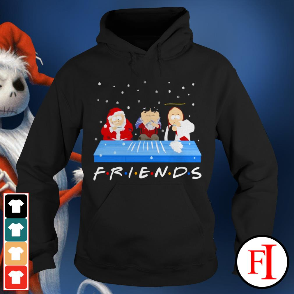 Friends TV show Tegridy Farms doing Cocaine Hoodie