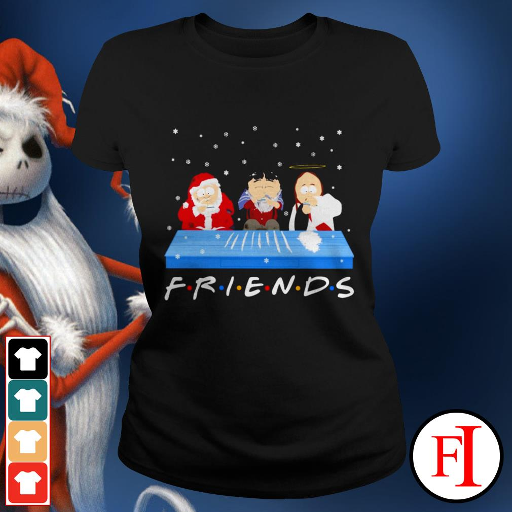 Friends TV show Tegridy Farms doing Cocaine Ladies tee