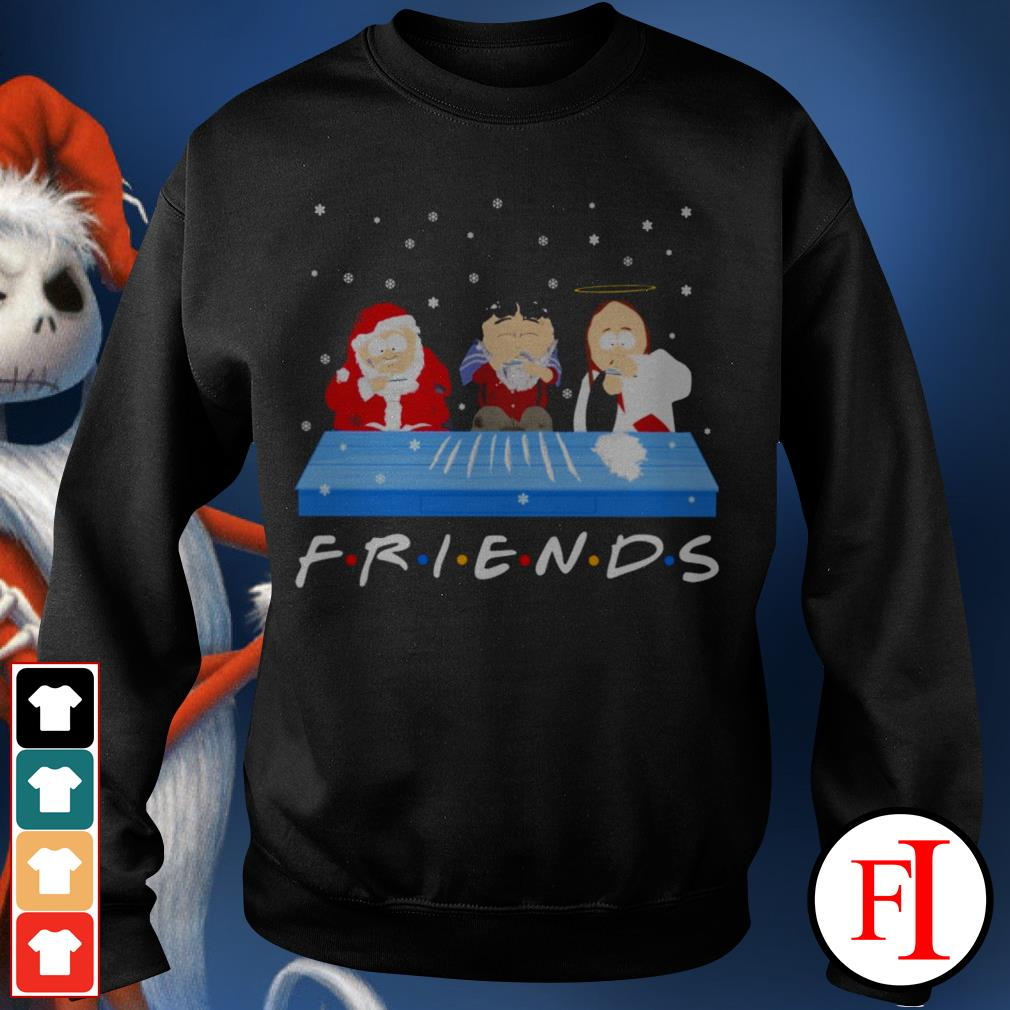 Friends TV show Tegridy Farms doing Cocaine Sweater