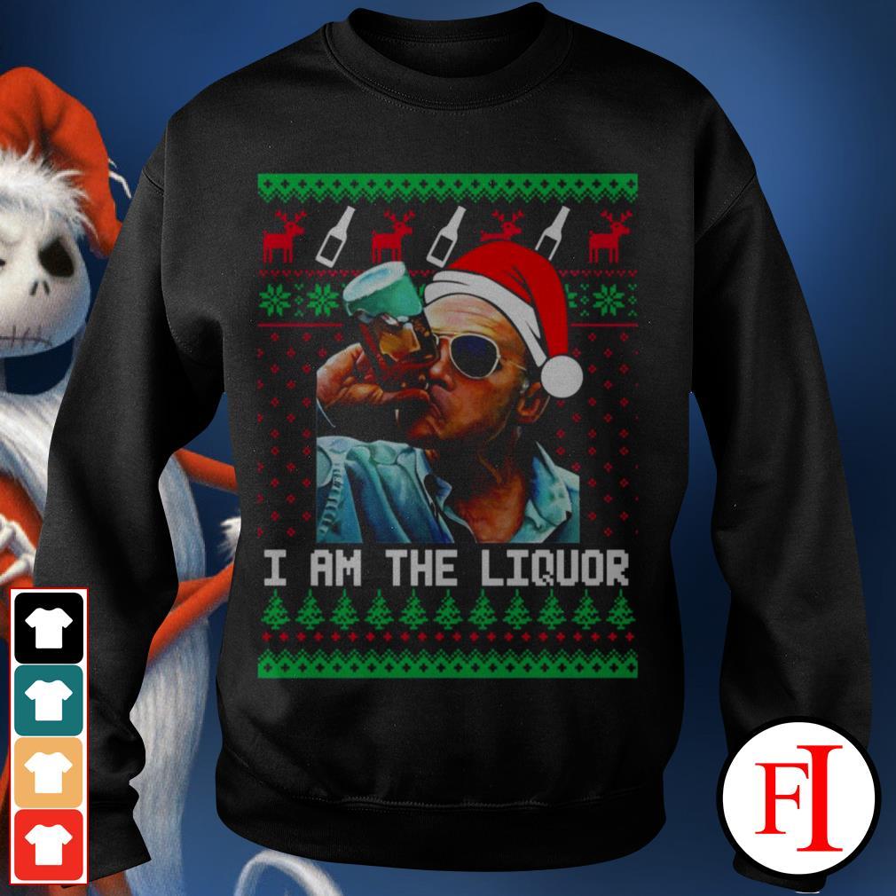 I am the Liquor Christmas Jim Lahey Sweater