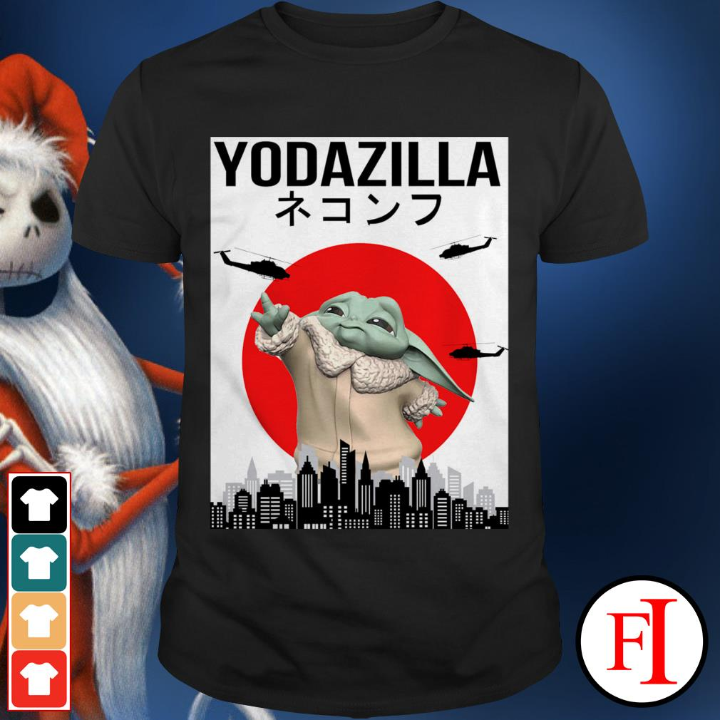 Official Baby Yoda Yodazilla shirt