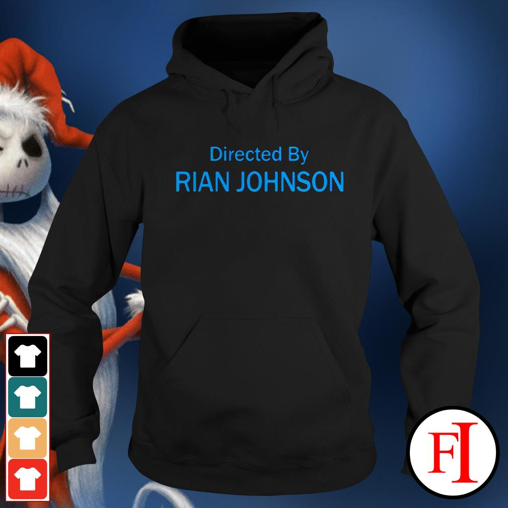 Official Directed by Rian Johnson Hoodie