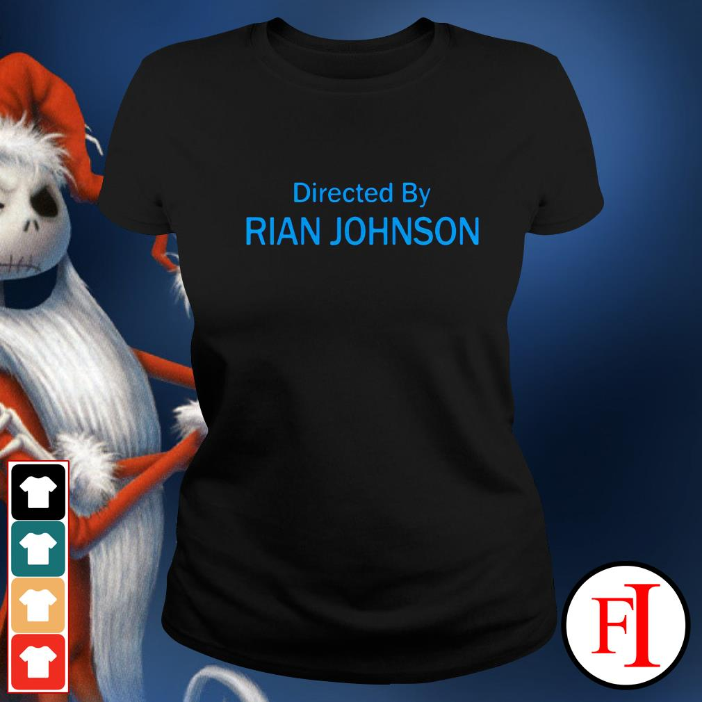 Official Directed by Rian Johnson Ladies tee