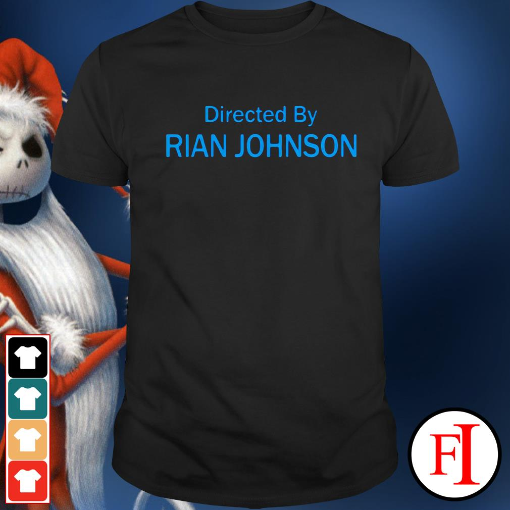 Official Directed by Rian Johnson shirt