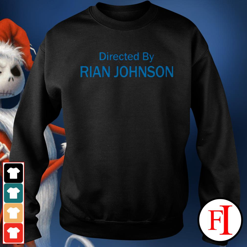 Official Directed by Rian Johnson Sweater