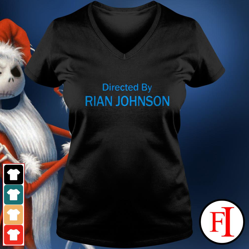 Official Directed by Rian Johnson V-neck t-shirt