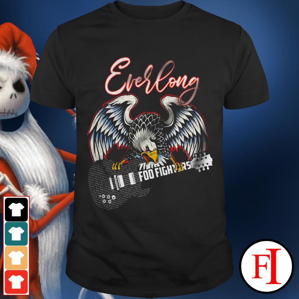 Official Everlong Foo Fighter Eagle guitar shirt