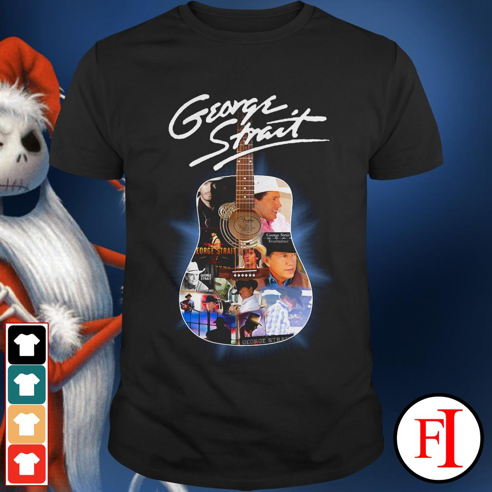 Official George Strait guitar King of Country shirt
