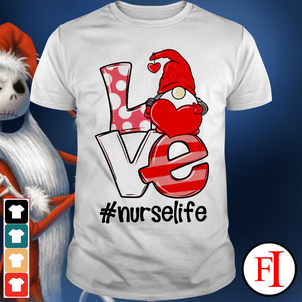 Official Gnomies love nurselife shirt