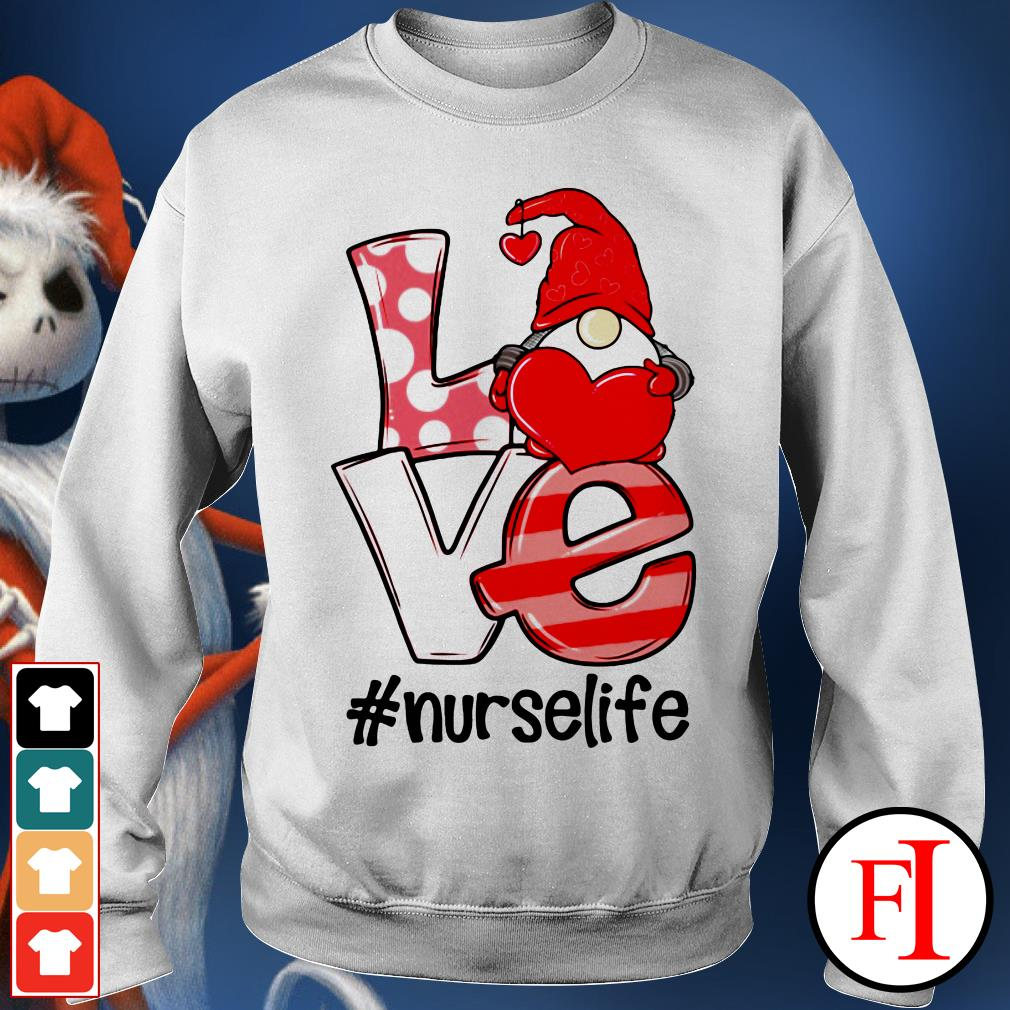 Official Gnomies love nurselife Sweater