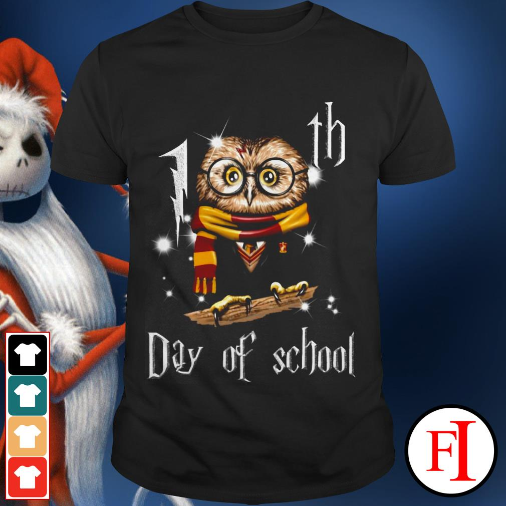 Official Harry Potter owl 100th day of school shirt