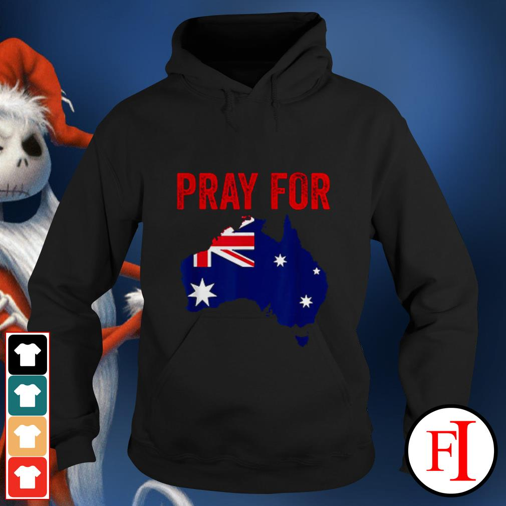 Official Pray for Australia Hoodie