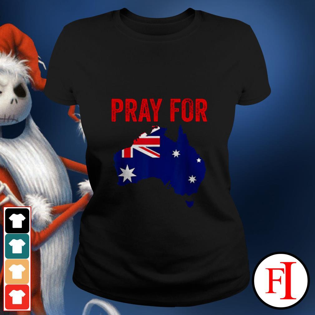 Official Pray for Australia Ladies tee
