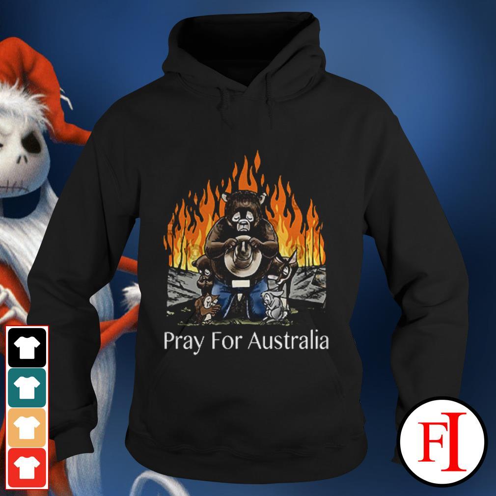 Pray for Australia Bushfires Bears Animal People Hoodie