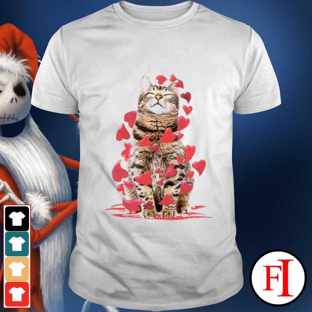 Valentine's Day Cat love shirt