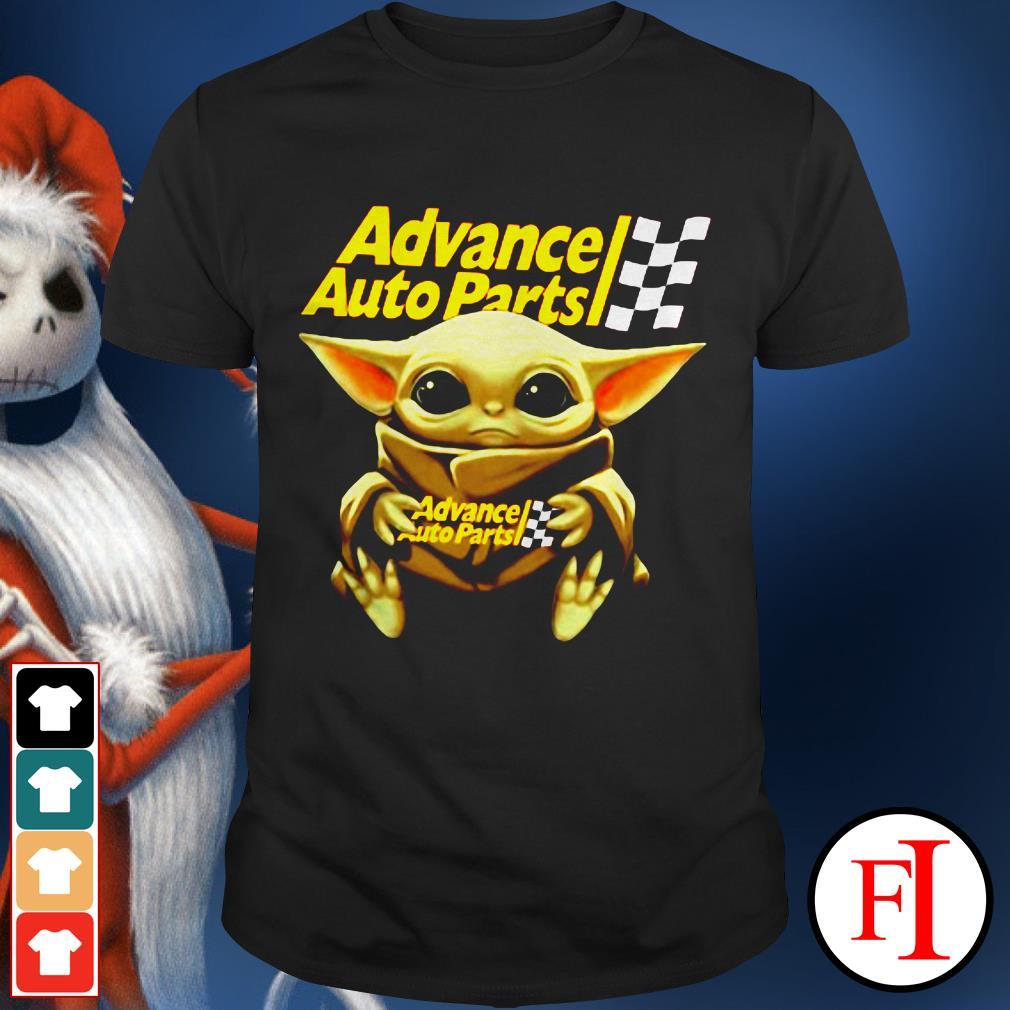 Advance auto parts Star Wars Baby Yoda hug shirt