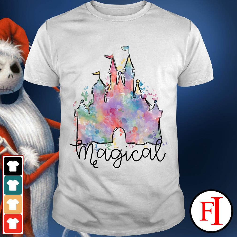 Beautyful Disney castle magical shirt
